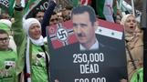 Syrians want peace, call for Assad's removal