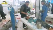 Video 'shows gas attack aftermath'