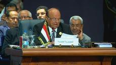 "Yemen president berates Iran ""puppets"" at Arab summit opening"