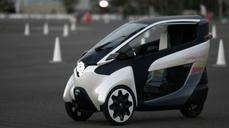 Toyota's i-Road hits the streets in Tokyo