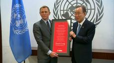 """License to save"" for Daniel Craig as U.N. envoy"
