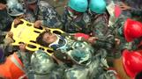 Boy pulled out alive from Nepal quake rubble