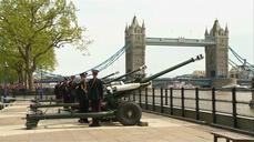 Royal baby welcomed with cannon salute