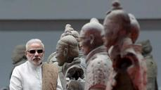 India's Modi makes his first official trip to China