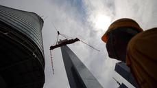 China builds world's second-tallest skyscraper