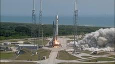 Unmanned rocket blasts off from Cape Canaveral