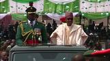 Celebrating a new president in Nigeria
