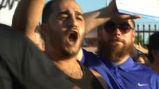 Tense moments at Arizona anti-Islam demonstration