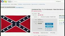 Top retailers want Confederate flag abolished