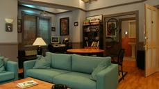 Seinfeld's television home is recreated