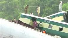 Sabotage suspected in Pakistan military train crash