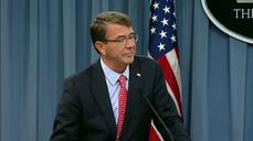 "Carter: U.S. would take ""opportunity"" to strike Baghdadi"