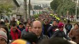 Thousands flock to Quito for Pope Francis Mass