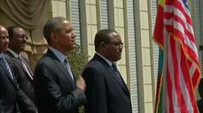 Obama meets Ethiopian prime minister