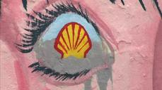 One hundred artists paint mural against Shell Oil's Arctic drilling plans