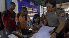 Searchers spot plane wreckage in Indonesia