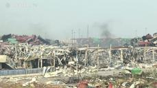 A visit to ground zero of the Tianjin blasts