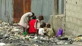 Nigeria's poor build homes in capital's garbage dump