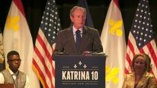 Bush praises resilience of New Orleans schools on Katrina anniversary