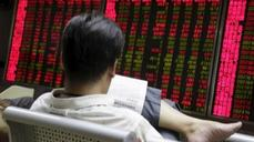 China markets get Monday morning blues