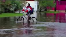 Erika leaves south Florida soaked