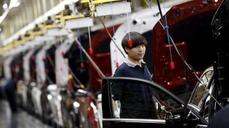 China's factories shrink further in August