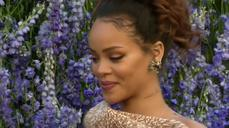 Rihanna in front row at pretty Dior