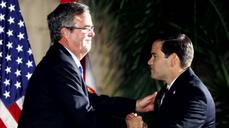Bush-Rubio bromance on the rocks