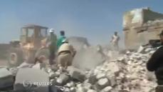 Syrian rescuers' missile drama