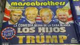 Son of a Trump: Mexican comedians hit back in insult-laden show