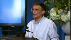 Turkish-born Aziz Sancar reacts to news of Nobel win