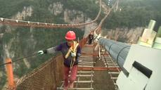 High hopes for China's glass walkway