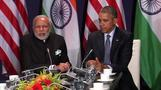 "Modi: India to work ""shoulder to shoulder"" with U.S. on clean energy"
