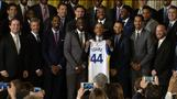NBA Champs visit White House