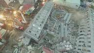 Taiwan apartment toppled by quake
