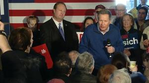 Kasich's 2nd place NH finish breathes new life into campaign