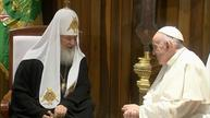 Pope Francis meets with Russian Orthodox Patriarch