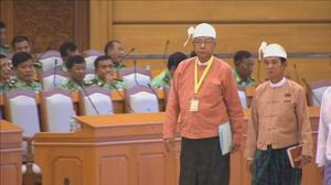 Myanmar president-elect says reduction of ministries will save money