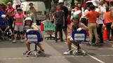 Office chair race rolls on in Taiwan
