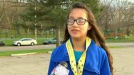 Girl accidentally runs half-marathon