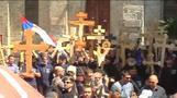 Orthodox Christians mark Good Friday in Jerusalem
