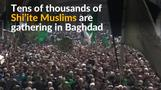 Thousands of Shi'ites gather in Iraq for imam's death anniversary