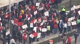 "Day two of Detroit teacher ""sickout"""