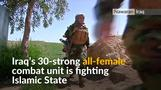 All-female combat unit hungry for revenge against Islamic State