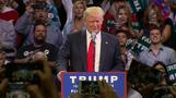 Trump holds rallies on hostile GOP turf