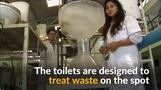 Eco-friendly toilets for the developing world