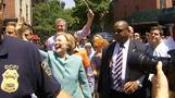Hillary Clinton attends NYC gay pride parade