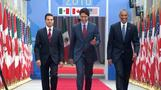 'Three amigos' meet for North America summit