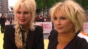 World premiere of  Absolutely Fabulous hits London