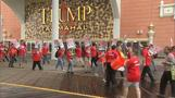 Trump Taj Mahal casino workers on strike
